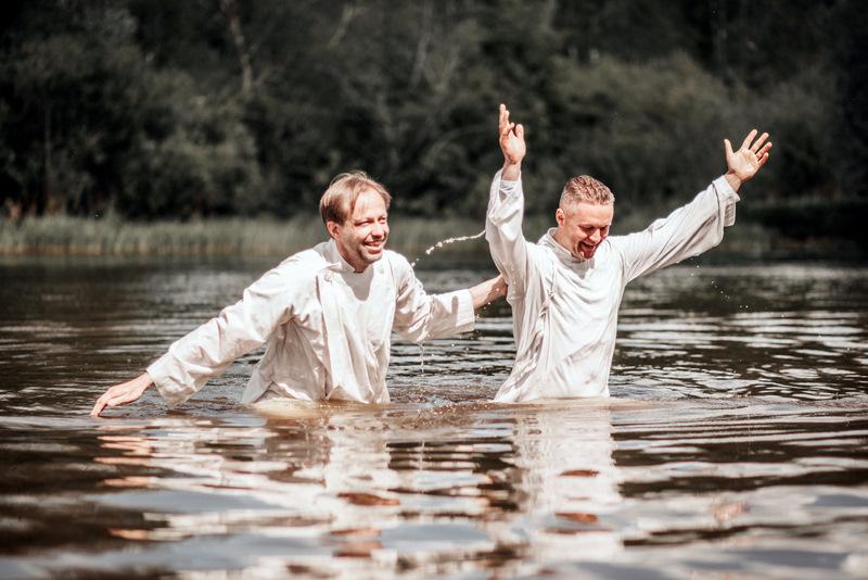 24 aimuri ristimine